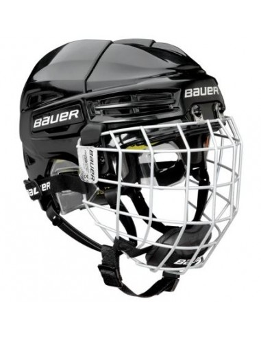 Casco BAUER RE-AKT 100 COMBO M Blanco